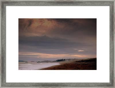 p Framed Print by Reid Albee