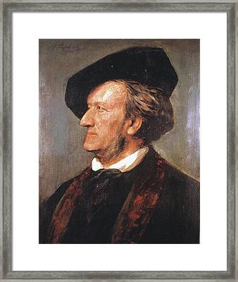 Richard Wagner (1813-1883) Framed Print