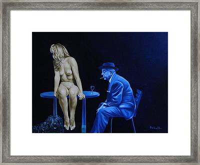 Sans Paroles Framed Print by Roland Delcol