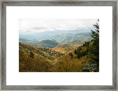 2676 Blue Ridge Parkway Framed Print by Stephen Parker