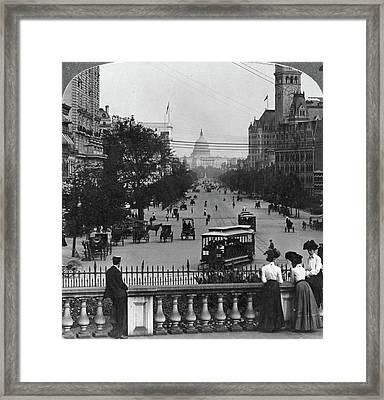 D Framed Print by Granger