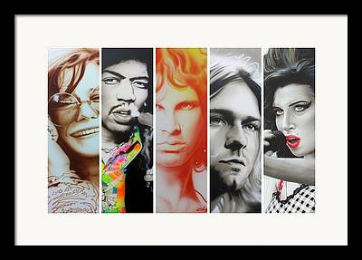 Hippy Framed Prints