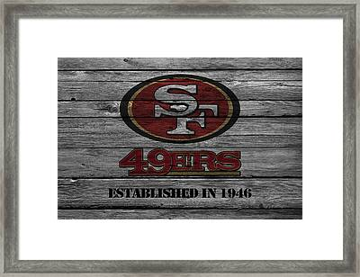 San Francisco 49ers Framed Print by Joe Hamilton