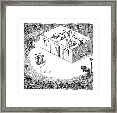 New Yorker September 26th, 2005 Framed Print
