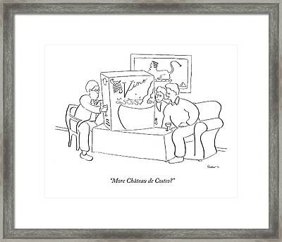 More Ch�teau De Costco? Framed Print