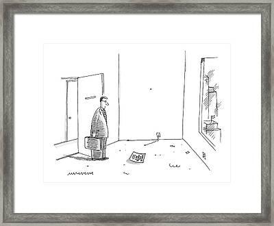 New Yorker March 31st, 2008 Framed Print by Mick Stevens