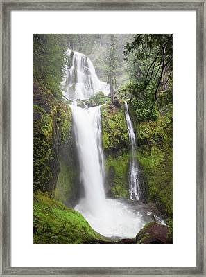 Wa, Gifford Pinchot National Forest Framed Print by Jamie and Judy Wild