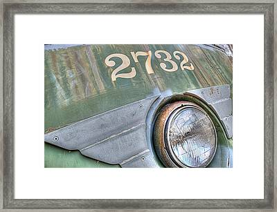 Framed Print featuring the photograph 2732 by Michael Donahue