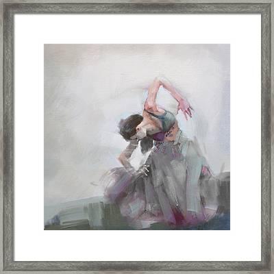 Belly Dancer 2 Framed Print by Corporate Art Task Force