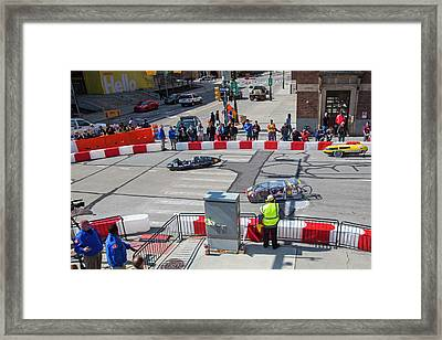 Fuel-efficient Vehicle Competition Framed Print by Jim West