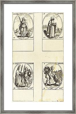 Jacques Callot French, 1592 - 1635 Framed Print by Quint Lox