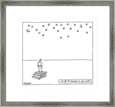 The $19.99 Stairway To The Stars Framed Print