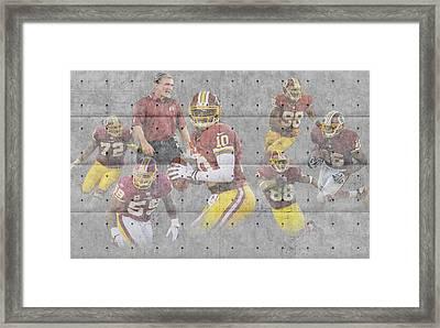 Washington Redskins Framed Print