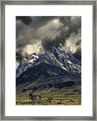 2837 Framed Print by Peter Holme III