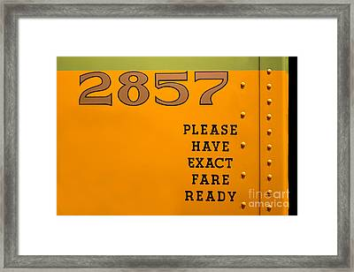 2857 Rosa Parks Framed Print by Barbara McMahon