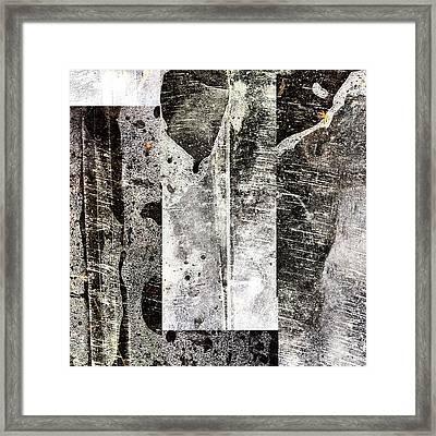 Plastic 2 Framed Print