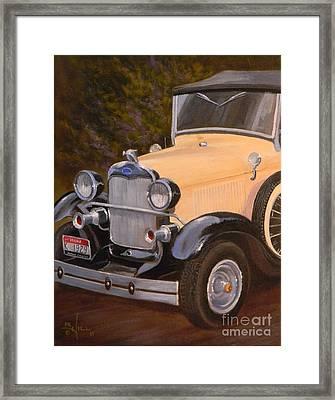 29' Ford Framed Print