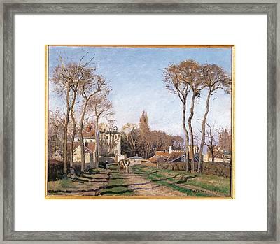 France, Ile De France, Paris, Muse Framed Print by Everett