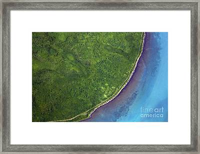 Iceland Aerial Photo Framed Print by Gunnar Orn Arnason