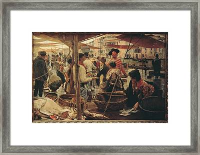 Italy, Lazio, Rome, National Gallery Framed Print