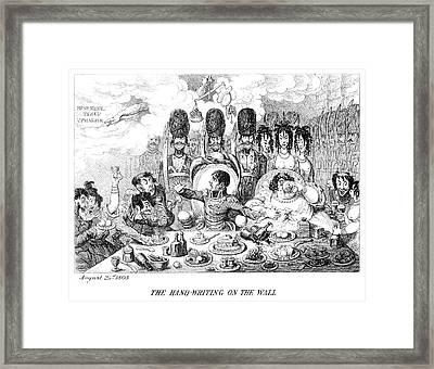 Napoleon I (1769-1821) Framed Print by Granger