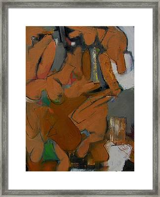 Framed Print featuring the painting Study by Fred Smilde