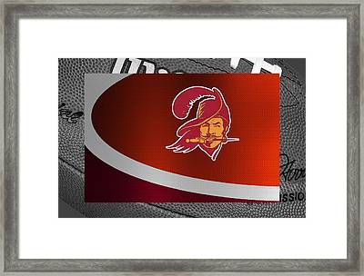 Tampa Bay Buccaneers Framed Print by Joe Hamilton