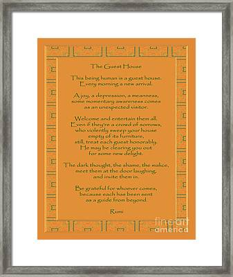 29- The Guest House Framed Print by Joseph Keane