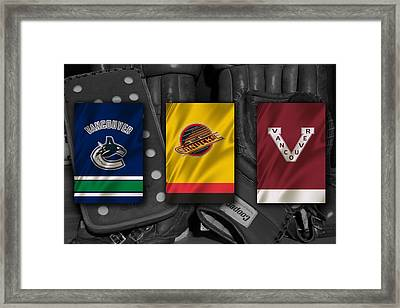 Vancouver Canucks Framed Print by Joe Hamilton