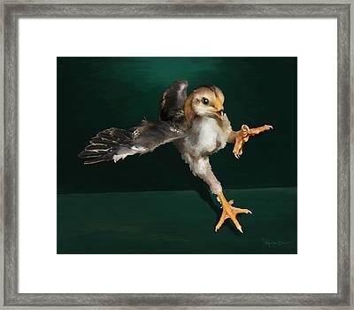 29. Yamato Chick Framed Print