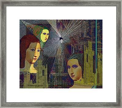 290 - The Subtle Daily Horror Framed Print