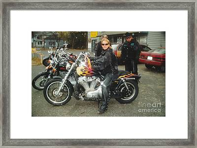 Bike Week Framed Print