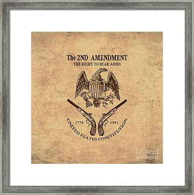 2nd Amendment One Framed Print