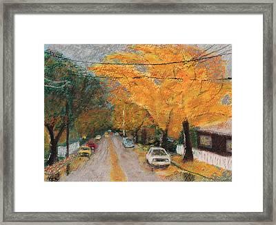 2nd Avenue Framed Print