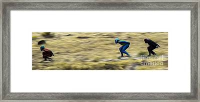 2nd Crop  Framed Print by Carl Warren