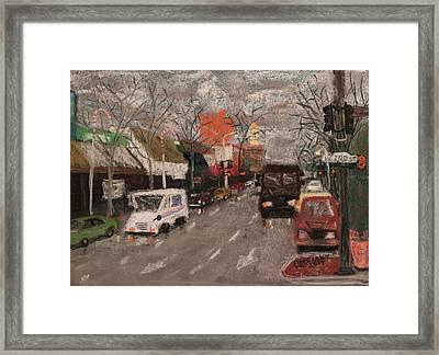 2nd Street Framed Print