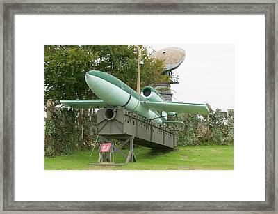 2nd World War Flying Bomb Framed Print