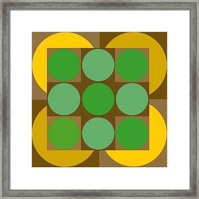 2x2vasarelyh Framed Print by Robert Van Es