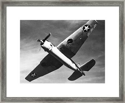 Grumman Tbf Avenger Framed Print by Hank Clark