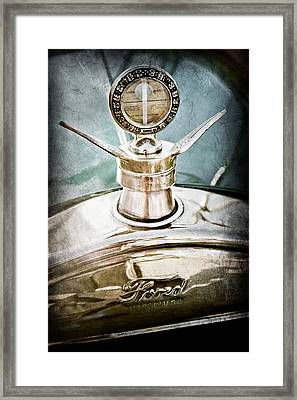 1923 Ford Model T Hood Ornament Framed Print