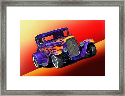 1930 Ford Model A Coupe Framed Print by Dave Koontz