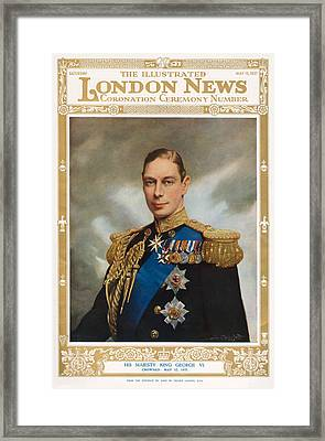 1930s Uk Illustrated London News Framed Print by The Advertising Archives