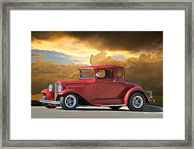 1931 Ford Model A Coupe Framed Print by Dave Koontz