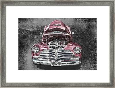 1948 Chevy 2100 Fk Fleetmaster Framed Print by Lesa Fine