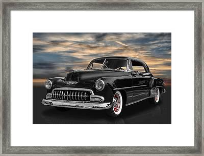 1952 Chevrolet Deluxe Framed Print by Frank J Benz