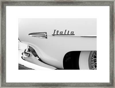 1954 Hudson Italia Touring Coupe Emblem Framed Print
