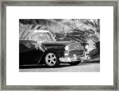 1955 Chevrolet 210 Framed Print by Jill Reger