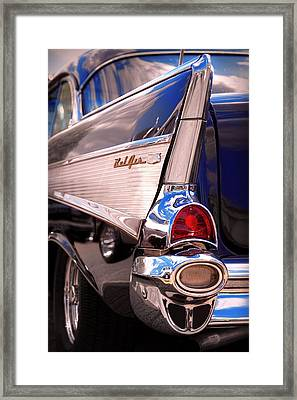 1957 Chevy Bel Air Framed Print by Gordon Dean II