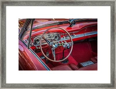 1963 Ford Falcon Sprint Convertible  Framed Print