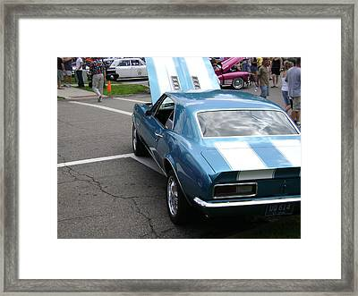 1967 Camaro Framed Print